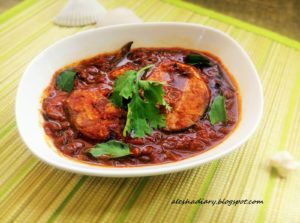 Simple fish curry without Coconut-How to make an easy fish curry-எளிதான மீன் குழம்பு