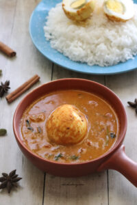 Egg curry-Muttai kuzhambu